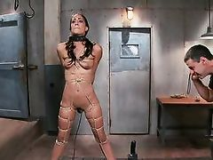 lyla is tortured with an intense orgasm
